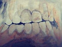 Imágenes frescas al azar del arte psychadellic trippy del bosquejo del ejemplo del dibujo Foto de archivo libre de regalías