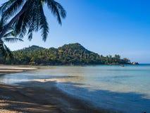 Im?genes hermosas de playas arenosas en Koh Phangan fotografía de archivo libre de regalías