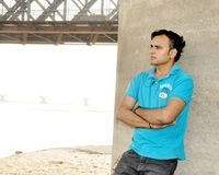 Imágenes la India modelo masculina Foto de archivo