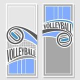 Imágenes para el texto a propósito del voleibol Fotos de archivo