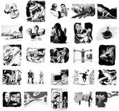 Imágenes retras de la ciencia ficción Fotografía de archivo libre de regalías