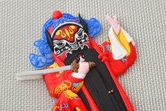 Imán chino del refrigerador de la ópera del gran colector chino del fantasma, foto de archivo