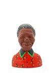 Imán del refrigerador de Nelson Mandela Imagen de archivo libre de regalías
