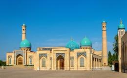Imán Ensemble de Hazrat en Tashkent, Uzbekistán foto de archivo libre de regalías