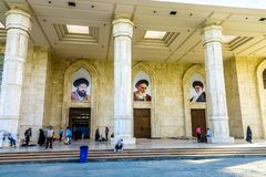 Imã Khomeini Shrine 02 de Tehran imagens de stock