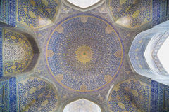Imã Mosque (imã de Masjed-e) em Isfahan, Irã fotografia de stock royalty free