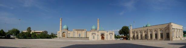 Imã Panorama de Khazrati, Tashkent, Usbequistão imagem de stock