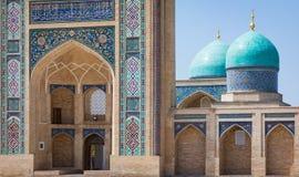 A imã Square Hazrati Imam de Hast é um centro religioso de Tashken imagem de stock