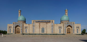 Imã Square Khazrati Imam de Hast, Tashkent, Usbequistão imagem de stock royalty free