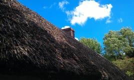 Im altem Stil Dach Stockfoto
