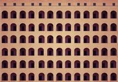 Im altem Stil errichtende Fassadenarchitektur lizenzfreies stockfoto