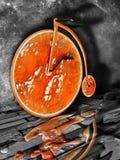 Im altem Stil Fahrrad Stockfoto