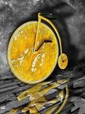 Im altem Stil Fahrrad Stockbilder