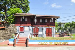 Im altem Stil Haus auf Bacolod Lizenzfreie Stockbilder