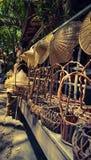 Im altem Stil Markt Stockbild