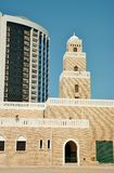 Im altem Stil Minarett Adschman-Moschee Lizenzfreies Stockfoto