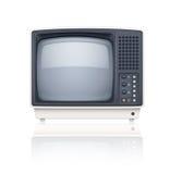 Im altem Stil Retro- Fernseherikone Lizenzfreie Stockfotografie