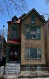Im altem Stil städtisches Haus Stockfoto
