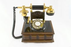 Im altem Stil Telefon #2 lizenzfreies stockbild