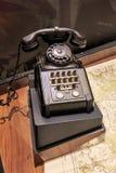 Im alten Stil Telefon Stockbild