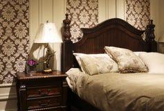 Im Amerikanischen Stil Schlafzimmer Verzieren Stockbild - Bild von ...