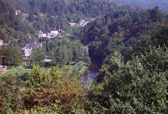 Im Ardenne Belgien lizenzfreie stockfotografie