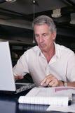 Im Büro Lizenzfreie Stockfotos