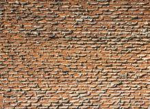 Im Bau Backsteinmauer Lizenzfreie Stockbilder