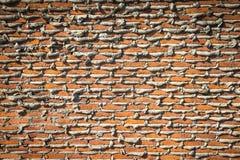 Im Bau Backsteinmauer Lizenzfreies Stockbild
