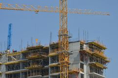 Im Bau errichten Lizenzfreies Stockfoto