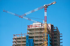 Im Bau errichten Lizenzfreie Stockbilder