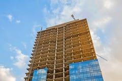 Im Bau errichten Stockbilder