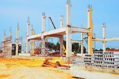 Im Bau errichten Lizenzfreies Stockbild