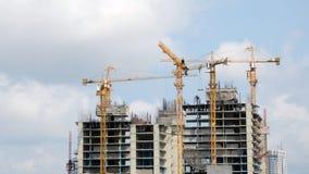 Im Bau errichten, Timelapse stock video