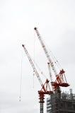 Im Bau Gebäude Lizenzfreie Stockfotos