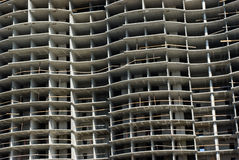Im Bau Hausfragment stockfoto