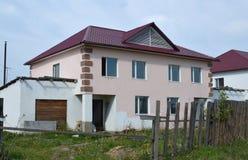Im Bau Landhaus Lizenzfreies Stockbild