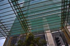 Im Bau Makati Philippinen lizenzfreie stockfotografie