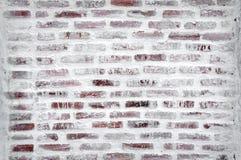 Im Bau von der Backsteinmauer Lizenzfreie Stockfotografie