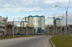 Im Bau Wohnbezirk Lizenzfreies Stockbild