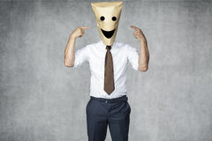 Im the best businessman Royalty Free Stock Images