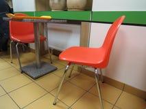 Im Café Lizenzfreies Stockfoto