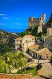 Im Dorf Savoca Stockfotografie