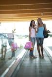 Im Einkaufszentrum Lizenzfreies Stockfoto