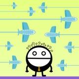 Im Flug Lizenzfreies Stockbild