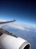 Im Flug Stockfoto