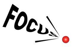 Im Fokus vektor abbildung