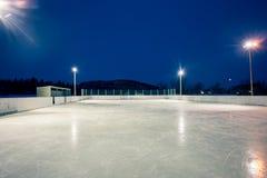 Im Freien Eisbahn stockfoto