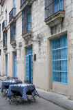 Im Freien kubanische Gaststätte Stockfotografie