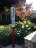 Im Freien von der La Verne-Stadtkirche Lizenzfreies Stockfoto